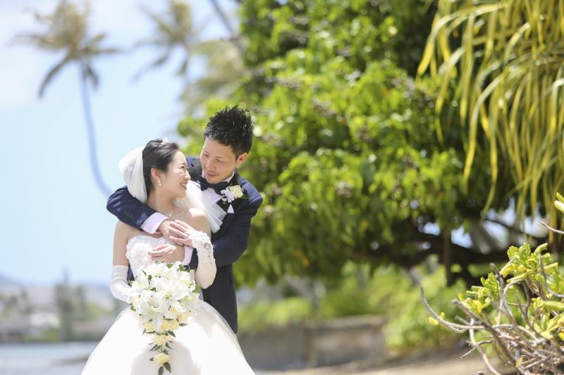 人気のハワイウェディング キャルバリーバイザシー教会へ名古屋からお得に出発しよう!